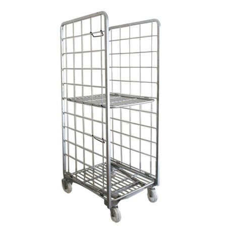 SalesBridges Nestable Roll Container with 2 sides