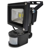 SalesBridges LED 30W Schijnwerper met PIR Sensor Bouwlamp 2400lm 6000K IP65
