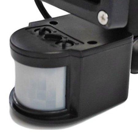 SalesBridges 10W LED Floodlight with PIR Sensor IP65 Construction Lamp