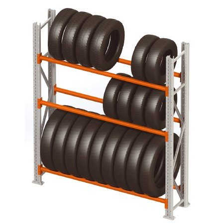 SalesBridges Storage rack for tyres single row