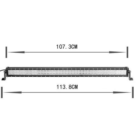 SalesBridges LED 240W Werklamp 5D Bar Balk CREE Chip 28000lm 6000K IP68