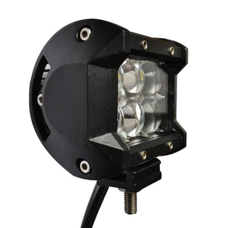 SalesBridges LED Worklamp 18W 5D Floodlight Bar CREE Chip 1260lm 6000K IP68