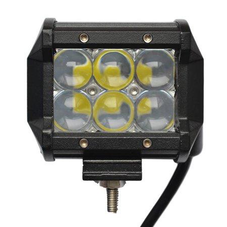 SalesBridges LED 18W Werklamp 5D Bar Balk CREE Chip 1260lm 6000K IP68