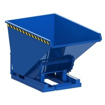 Chip Container Automatic 600L Tipper Container with Rollover System
