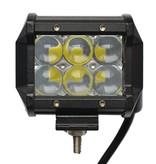 SalesBridges LED 18W 2x Werklamp 5D Bar Balk CREE Chip 1260lm 6000K IP68