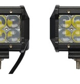 SalesBridges LED Worklamp 18W 5D Floodlight 2  Bar CREE Chip 1260lm 6000K IP68