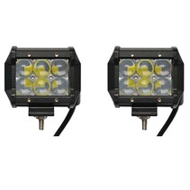 LED 18W 2x Werklamp 5D Bar Balk CREE Chip 1260lm 6000K IP68