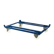 Pallet Dolly 1250kg for Pallets, Containers and Mesh Containers 1200x800mm - Copy