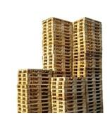 SalesBridges 30 x Industrial Pallets Used with 7 deck slats Bulk