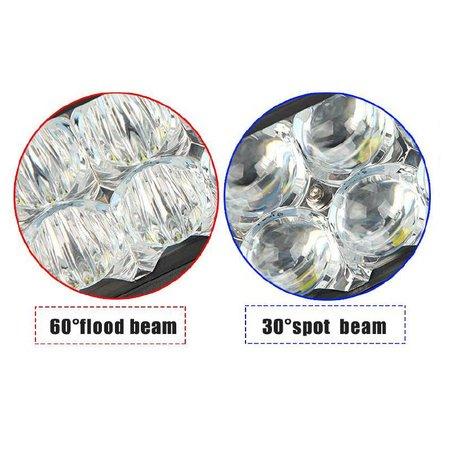 SalesBridges LED 72W Werklamp 5D Bar Balk CREE Chip 8900lm 6000K IP68