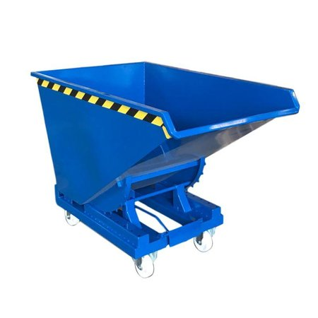 SalesBridges Chip Container Automatic 600L Tipper Container with Rollover System