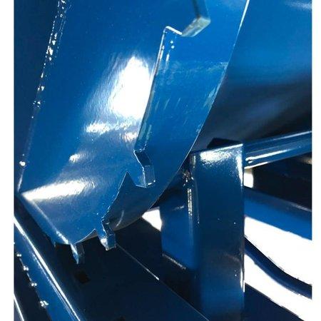 SalesBridges Kantelbak Automatisch 2500L Kiepbak met afrolsysteem