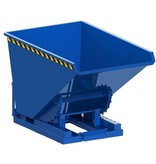 SalesBridges Chip Container Automatic 600L with wheels Tipper Container with Rollover System RENTAL