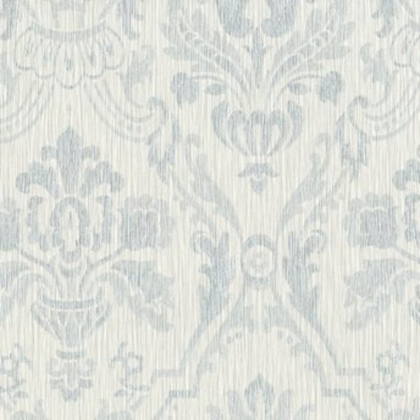 Dutch Wallcoverings San Priamo ornament zilver