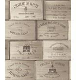 Dutch Wallcoverings Exposed wijnkisten bruin