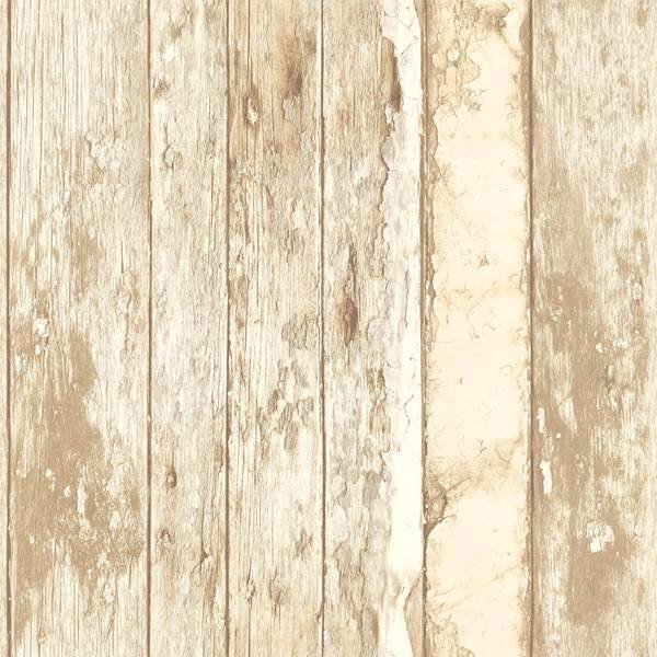 Dutch Wallcoverings Exposed sloophout bruin/beige