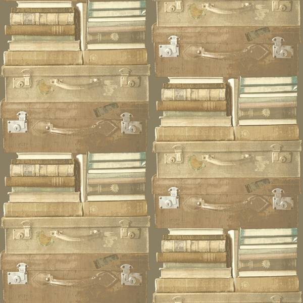 Dutch Wallcoverings Exposed koffers beige
