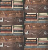 Dutch Wallcoverings Exposed koffers bruin