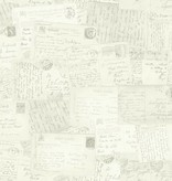 Dutch Wallcoverings Exposed kaarten grijs