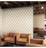 Dutch Wallcoverings Exposed kapiton beige