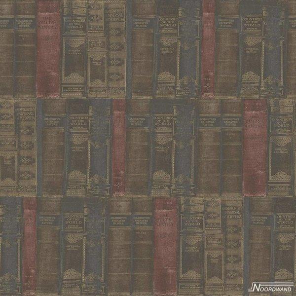 Noordwand Noordwand Memories G56132 Vintage Boekenkast