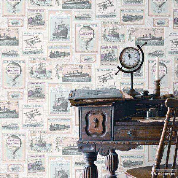 Noordwand Noordwand Memories G56145 Vintage Oude Schepen