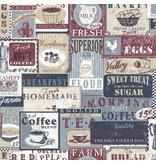Noordwand Noorwand Memories G56171 Vintage Koffie en Thee