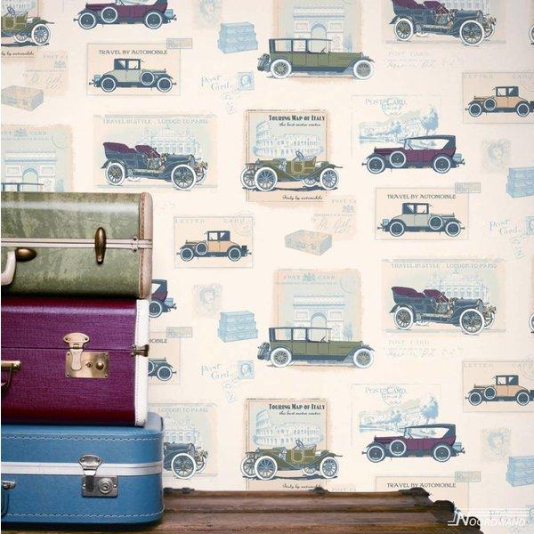 Noordwand Noordwand Memories G56136 Vintage Auto's