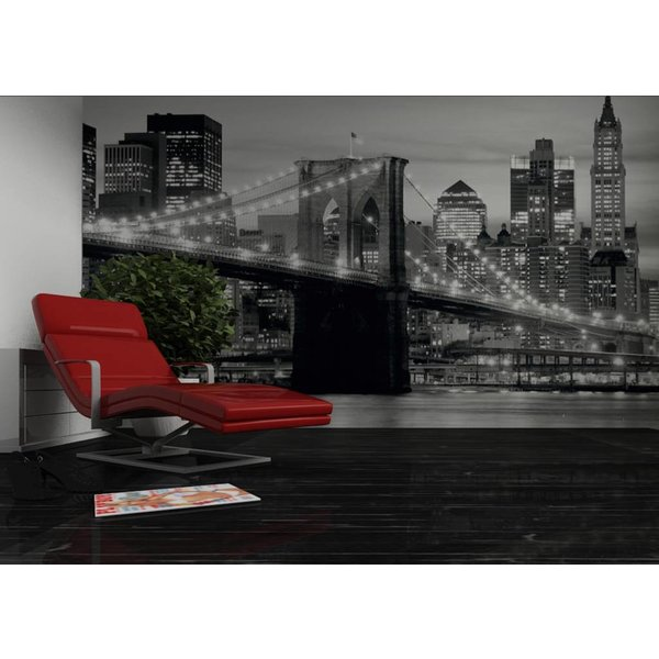 Dutch Wallcoverings AG Design Brooklyn Bridge B&W 4D