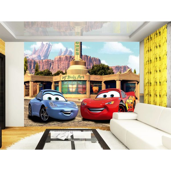 Dutch Wallcoverings AG Design Cars McQueen & Sally 4D