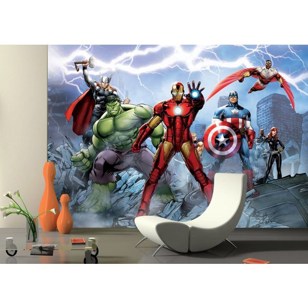 Dutch Wallcoverings AG Design Avengers 4D