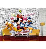 Dutch Wallcoverings AG Design Mickey On Dark Comics 4D