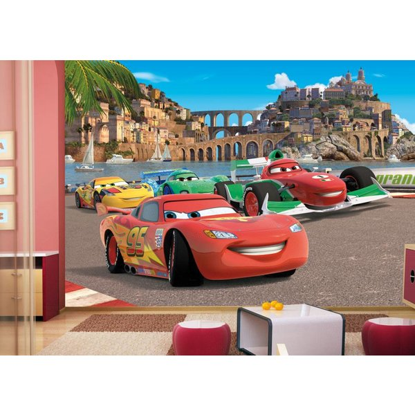 Dutch Wallcoverings AG Design Cars 2 Race 4D