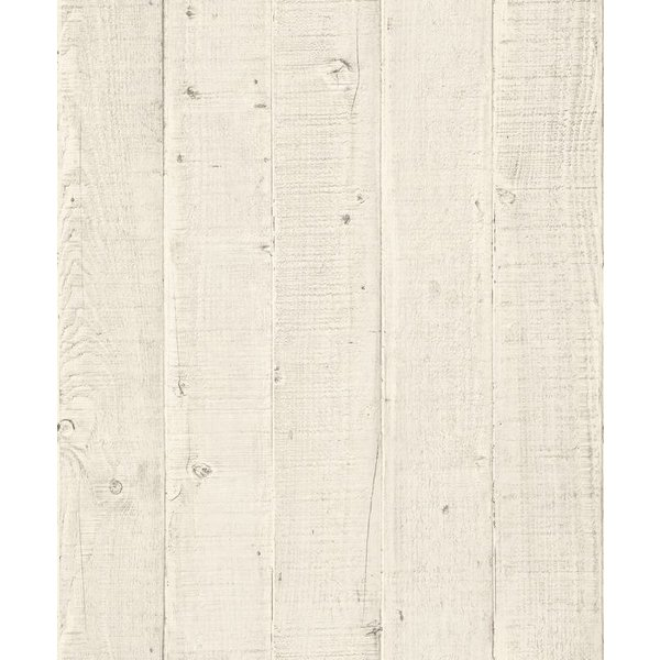 Dutch Wallcoverings Exposed Warehouse planken licht beige