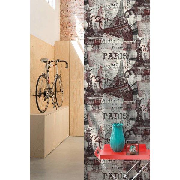 Exposed Warehouse Parijs grijs/rood