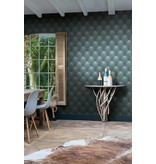 Dutch Wallcoverings Exposed Warehouse kapiton blauw