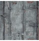 Dutch Wallcoverings Exposed Warehouse deur grijs
