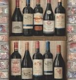 Dutch Wallcoverings Exposed Warehouse wijnflessen