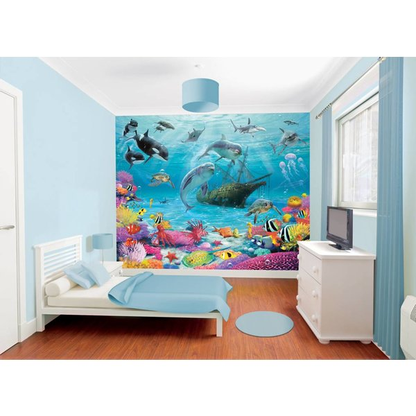 Dutch Wallcoverings Walltastic Sea Adventure fotobehang
