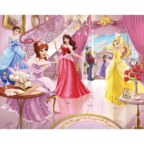 Dutch Wallcoverings Walltastic Fairy Princess 12 delig