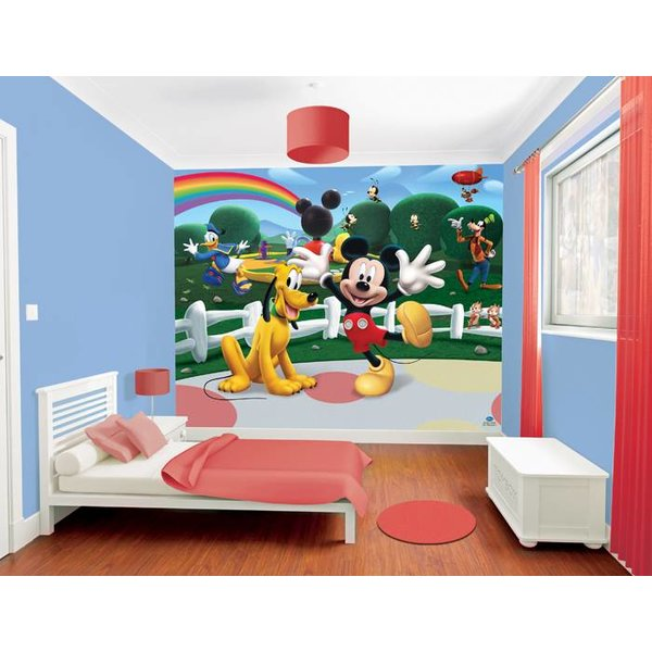 Walltastic Disney Mickey Mouse fotobehang