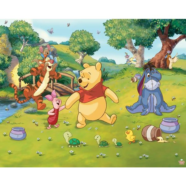 Dutch Wallcoverings Walltastic Disney Winnie the Pooh fotobehang