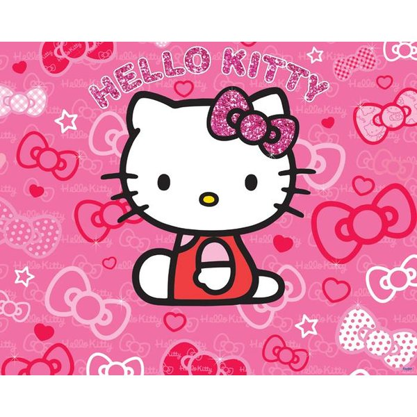 Dutch Wallcoverings Walltastic Hello Kitty 12 delig