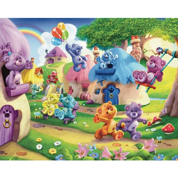 Dutch Wallcoverings Walltastic The Button Bears 12 delig