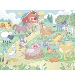 Dutch Wallcoverings Walltastic Baby Fun on the Farm 12 delig