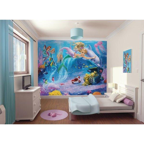 Dutch Wallcoverings Walltastic Mermaids fotobehang