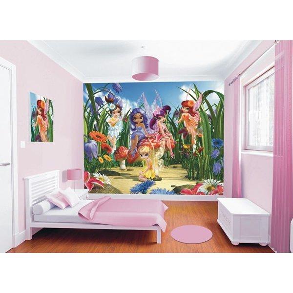 Dutch Wallcoverings Walltastic Magical Fairies fotobehang