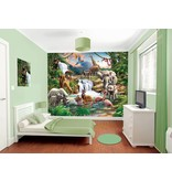 Dutch Wallcoverings Walltastic Jungle Adventure 12 delig