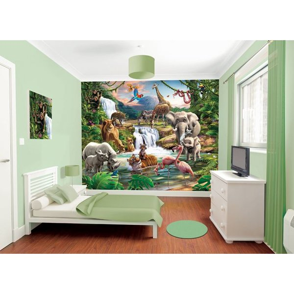 Dutch Wallcoverings Walltastic Jungle Adventure fotobehang