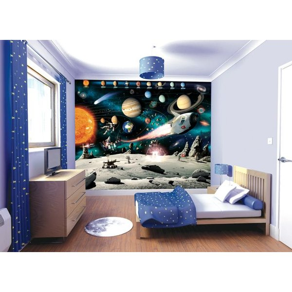 Dutch Wallcoverings Walltastic Space Adventure fotobehang